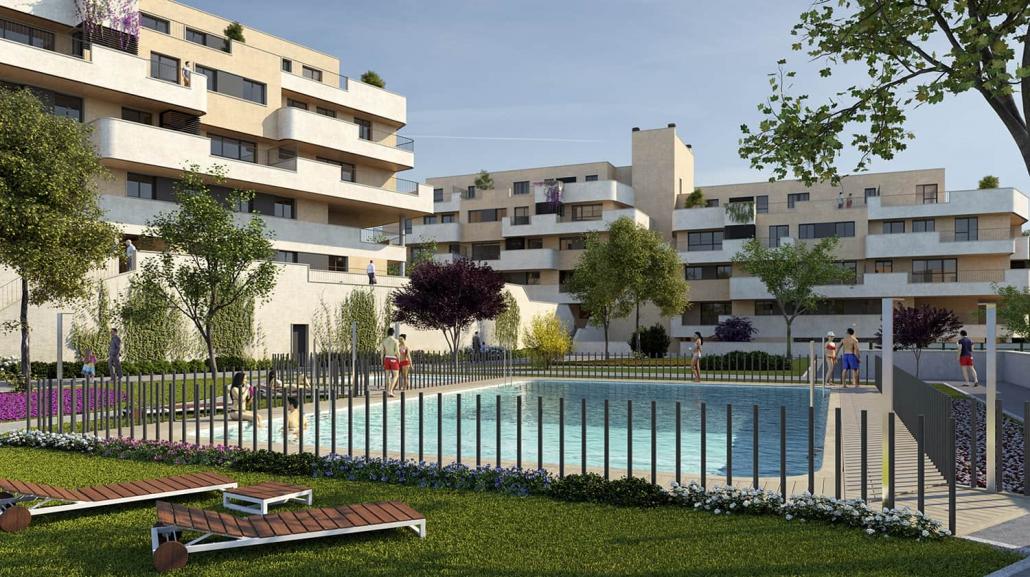 118 Viviendas en 4 bloques en Colmenar Viejo - Madrid