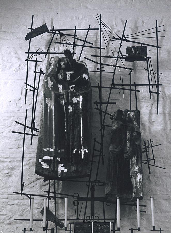 El papel de Fernández del Amo en el arte sacro de los pueblos de colonización