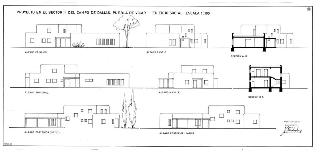 Puebla de Vicar, Almería 1966