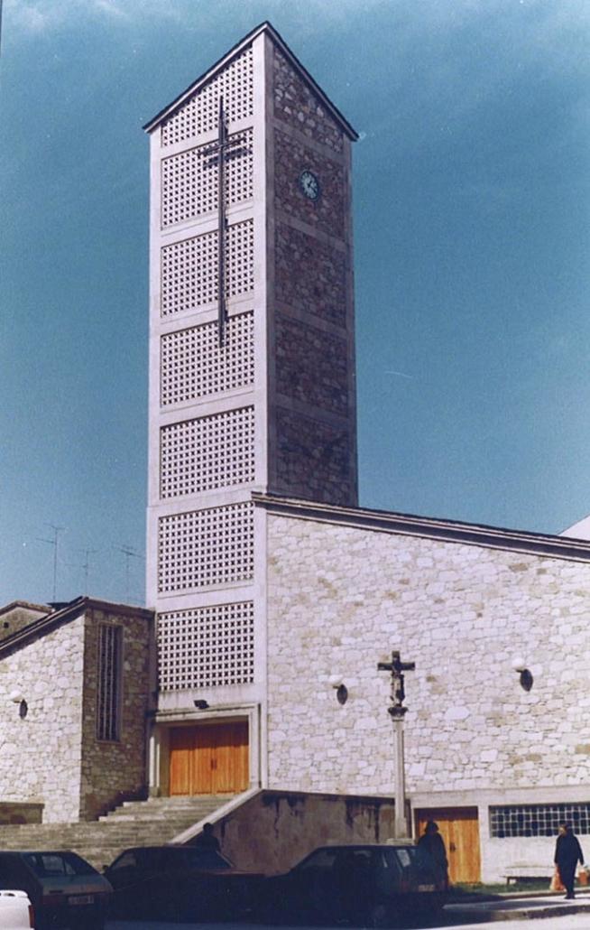 Iglesia parroquial de Santa Marina, Chantada.