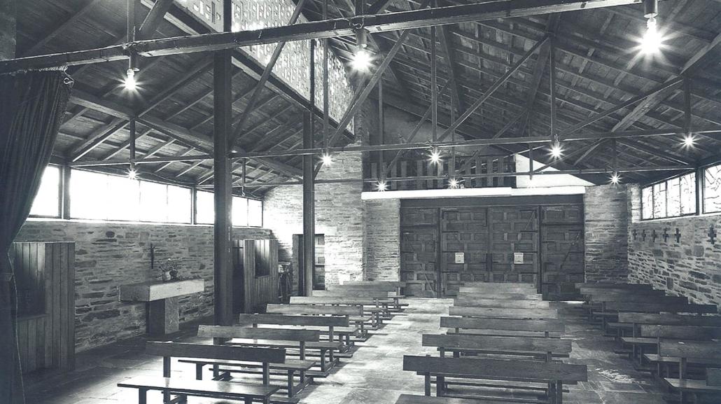 Iglesia de la Santa Cruz de Incio. Lugo