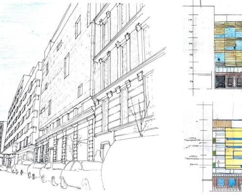 Ampliación de Edificación en la calle Lagasca. Madrid