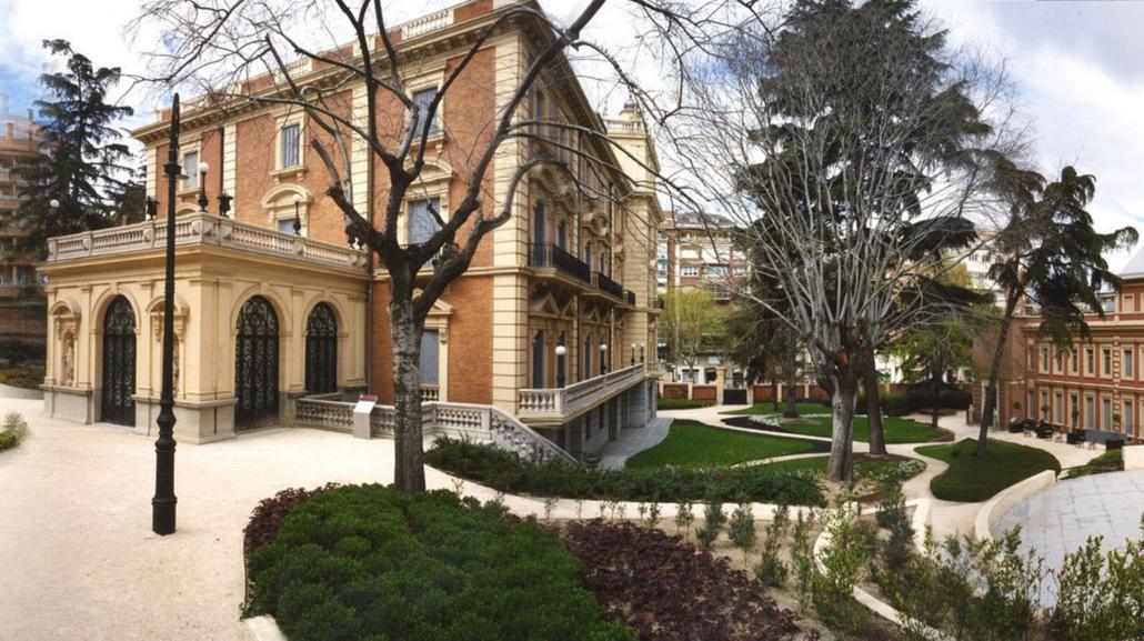 Ampliación y rehabilitación de la Fundación Lázaro Galdiano. Madrid