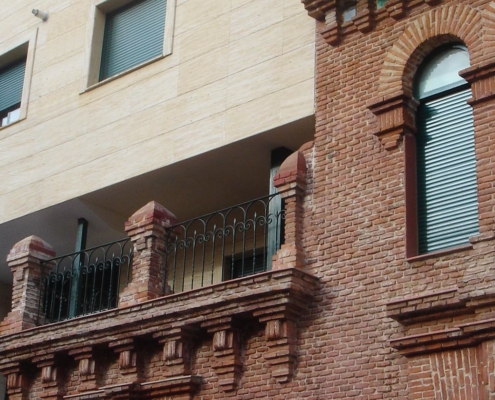 Ampliación de edificio de viviendas. Madrid
