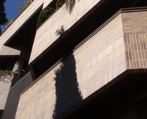 Edificio de viviendas en el Paseo de la Habana 165 cv a la calle Francisco Suárez. Madrid