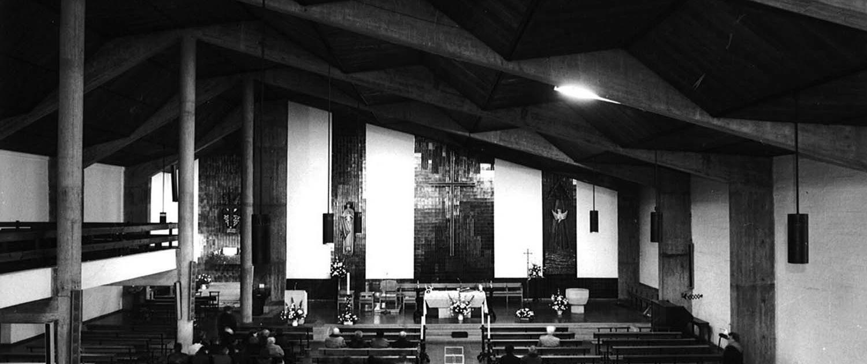 Iglesia parroquial de San Antonio de Padua. Lugo