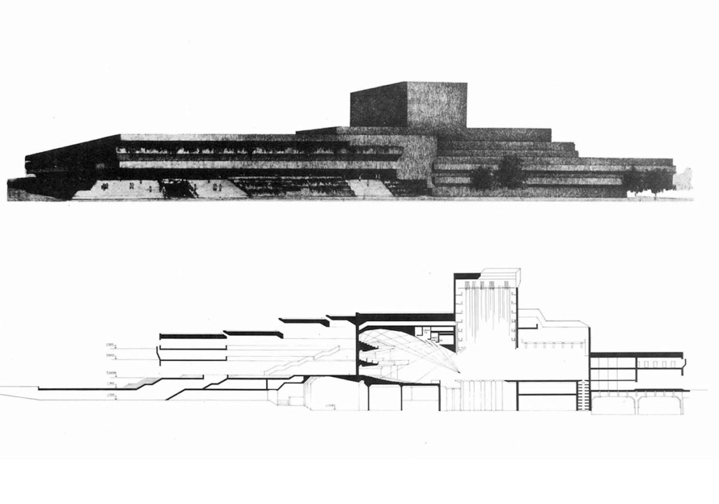 Concursos para el Palacio de Exposiciones y Congresos y Teatro Nacional de la Ópera de Madrid.