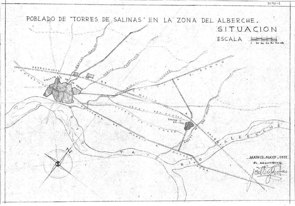 Torres de Salinas, Toledo. 1951