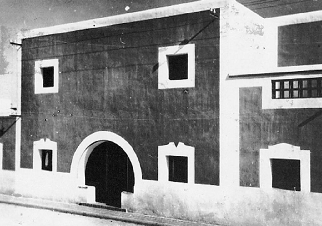 Barriada en Almería. 1944